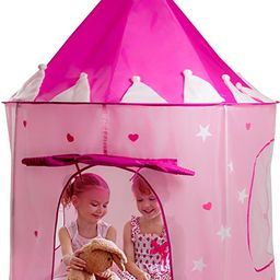 Play22 Play Tent Princess Castle Pink - Kids Tent Features Glow in The Dark Stars - Portable Kids...   Amazon (CA)