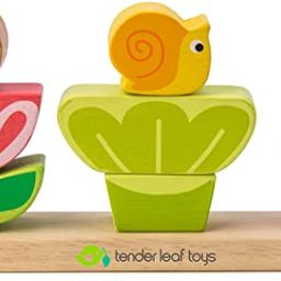 Tender Leaf Toys - Garden Stacker - My First Baby Wooden Animal Shape Sorter Puzzle Set - STEM Le...   Amazon (CA)