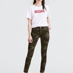 Camo Print 711 Skinny Ankle Women's Jeans   LEVI'S (US)