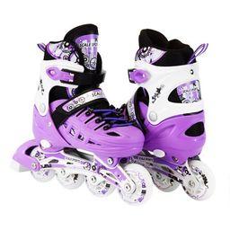 Size 13J-3 Adjustable Kids Light Up Inline Skates   Walmart (US)