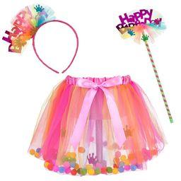 "Halloween """"Happy Birthday"""" Dress Up Costume Set Neon   Target"