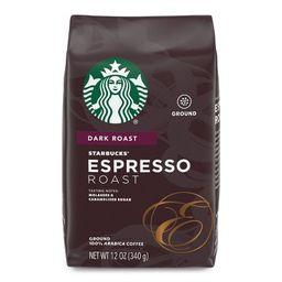 Starbucks Espresso Roast Dark Roast Ground Coffee - 12oz   Target