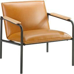 Sauder Boulevard Café Lounge Chair, Camel finish   Amazon (US)