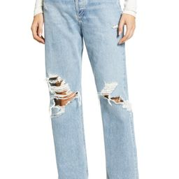 '90s Ripped Loose Fit Jeans   Nordstrom