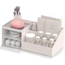 Multifunction Desk Organizer, BREIS Makeup Storage for Eyeshadows, Concealers, Powders, Nail Poli...   Amazon (US)