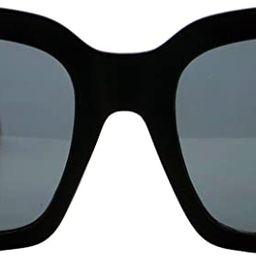 Womens Oversized Fashion Sunglasses Big Flat Square Frame UV 400 | Amazon (US)