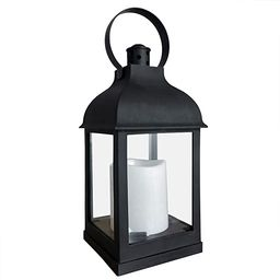 Decorative Lanterns with Timer Flameless Candle Using Battery for 11''H Outdoor and Indoor Hangin...   Amazon (US)