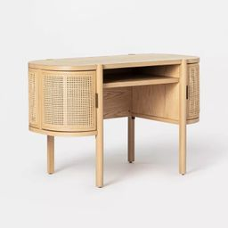Portola Hills Caned Desk - Threshold™ designed with Studio McGee | Target