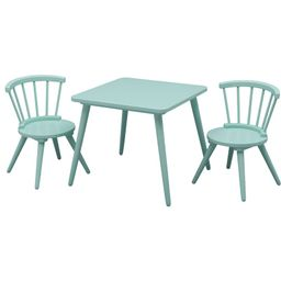 Nicklas Kids 3 Piece Windsor Writing Table and Chair Set   Wayfair North America