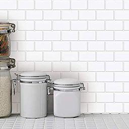 "Art3d 10-Sheet Peel and Stick Tile Backsplash - 12""x12"" Premium Anti Mold Kitchen Backsplash Peel... | Amazon (US)"