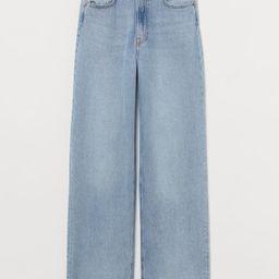 Wide-Leg Jeans | H&M (US)