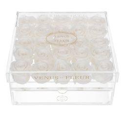 Venus ET Fleur Le Clair Vint-Cinq Eternity Roses - Pure White Rose | Saks Fifth Avenue