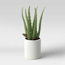 """10"""" x 5"""" Artificial Aloe Plant Arrangement - Project 62™   Target"""