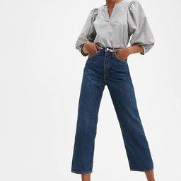 Levi's® Wellthread® Cottonized Hemp Ribcage Straight Jeans | LEVI'S (US)