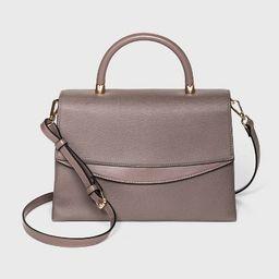 Magnetic Closure Top Handle Satchel Handbag - A New Day™ | Target