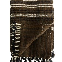 Amie Wool Stripe Throw | McGee & Co.