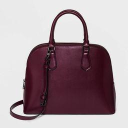 Dome Satchel Handbag - A New Day™ | Target
