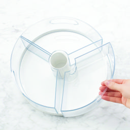 Divided Lazy Susan with Removable Bins   The Container Store