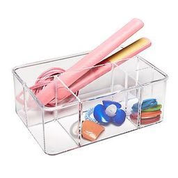 Acrylic Hair Care Organizer   The Container Store