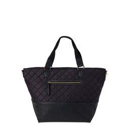No Boundaries Nylon Top Zip Women's Weekender Bag with Dual Handles | Walmart (US)