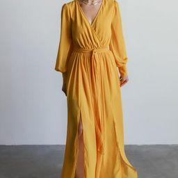 Celine Mustard Maxi Dress | Baltic Born