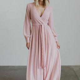 Lydia Pink Maxi Dress | Baltic Born