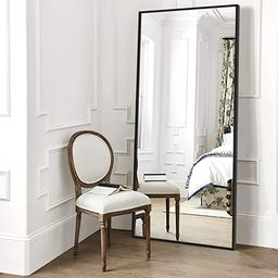 """Elevens Full Length Floor Mirror 65""""x22"""" Large Rectangle Wall Mirror Standing Hanging or Leaning ...   Amazon (US)"""