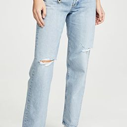 90's Mid Rise Loose Fit Jeans   Shopbop