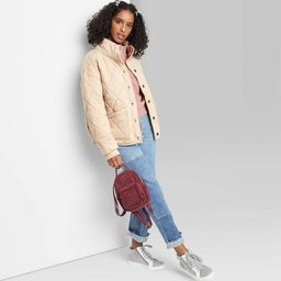 Women's Button-Front Quilted Jacket - Wild Fable™ | Target