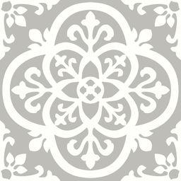 FloorPops Medina Peel and Stick Floor Tiles 12 in. x 12 in. (20 Tiles, 20 sq. ft.), Grey   The Home Depot