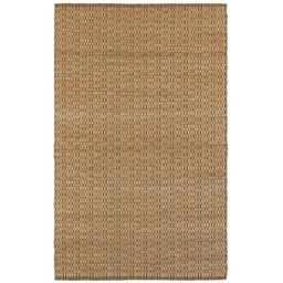 LR Home Rustic Beige/Brown 2 ft. x 3 ft. Checkered Natural Jute Area Rug, Beige / Brown   The Home Depot