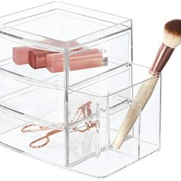 iDesign Clarity Cosmetic Organizer for Vanity Cabinet to Hold Makeup, Brushes, Beauty Products - ...   Amazon (US)