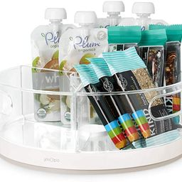 YouCopia Crazy Susan Kitchen Cabinet Turntable and Snack Organizer with Bins   Amazon (US)