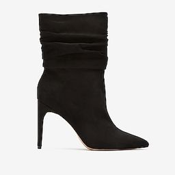Slouch Heeled Booties   Express