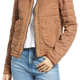 Collarless Quilted Jacket   Nordstrom