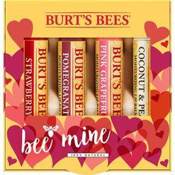 Burt's Bees Valentines Seasonal Lip Balms - 4ct/0.15oz | Target