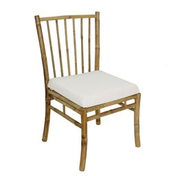 Bamboo Accent Dining Chair - Natural (Single)   Overstock