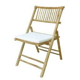 Zew Handcrafted Natural Bamboo Chair (Natural)   Overstock