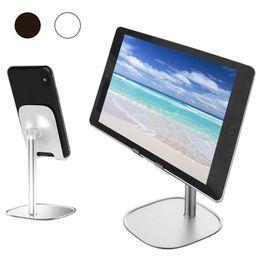 Cell Phone Stand, EEEKit Angle Height Adjustable Stable Cell Phone Stand for Desk, Sturdy Aluminum M | Walmart (US)