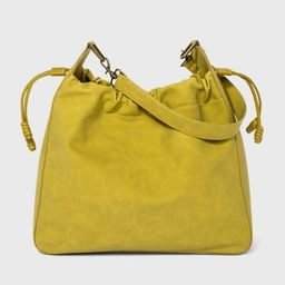 Drawstring Closure Hobo Handbag - Universal Thread™   Target