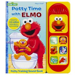 Potty Time with Elmo (Board Book) | Walmart (US)