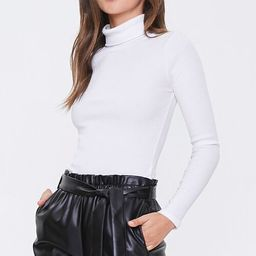 Faux Leather Tie-Waist Shorts | Forever 21 (US)