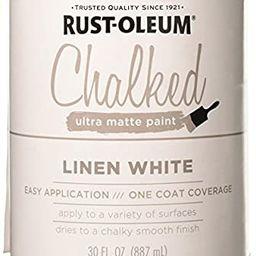 Rustoleum 285140 30 Oz Linen White Chalked Ultra Matte Paint - - Amazon.com   Amazon (US)