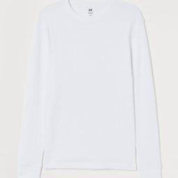 H & M - Slim Fit Jersey Shirt - White | H&M (US)