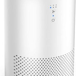 Intelabe HEPA Air Purifier Air Filter with Fragrance Sponge Air Cleaner Eliminate Smoke, Dust,Pol... | Amazon (US)
