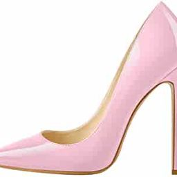 Women's Classic Pumps Pointed Toe Sexy High Heels | Amazon (US)