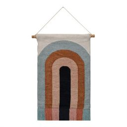Abstract Rainbow Woven Wall Hanging | World Market