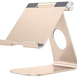 Tablet Stand Holder Adjustable, OMOTON T1 iPad Stand, Desktop Aluminum Tablet Dock Cradle Compati... | Amazon (US)
