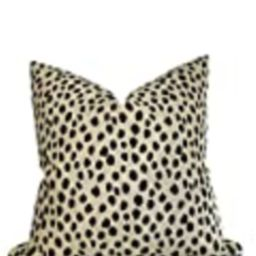 Kate Spade Fauna Pillow Cover in Pardo, Decorative Pillow Cover, Accent Pillow, Velvet Pillow | Amazon (US)