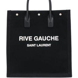 Rive Gauche canvas tote bag   Farfetch (US)